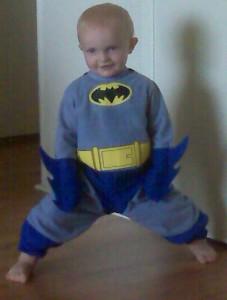 Jake as Batman