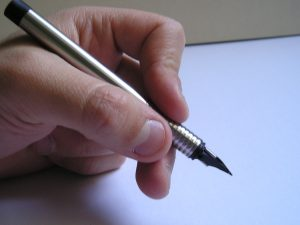 Writing with the perfect pen