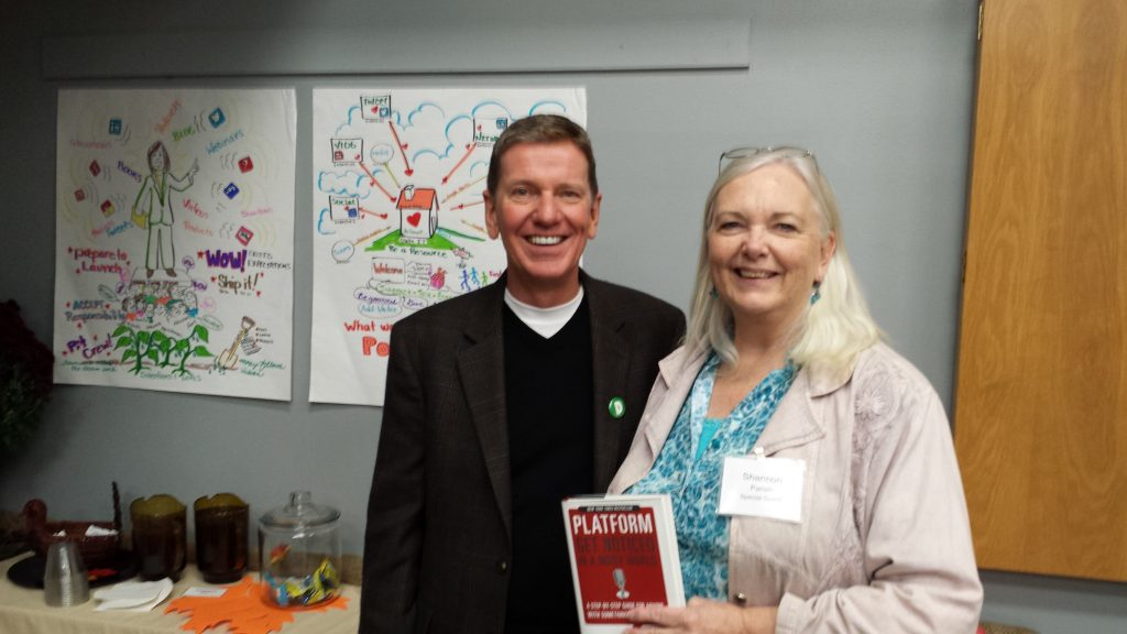 Michael Hyatt and Shannon Parish